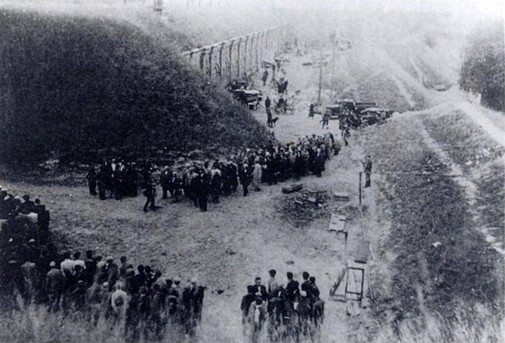Žydai, suvaryti į VII fortą (1941 m.)