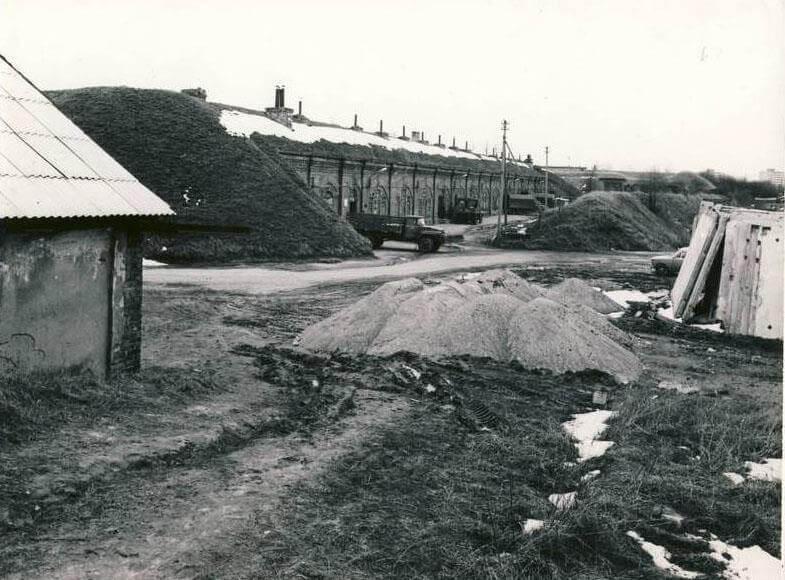 Sovietinės kariuomenės Vojentorgo bazė VII forte